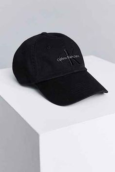 ad7f671ffdc Calvin Klein Canvas Baseball Hat