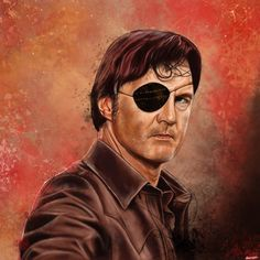 The Walking Dead - Governor  Art Print