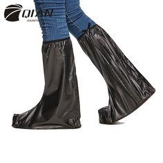 銭防雨2016新しいファッショナブルな高トップpvc雨靴カバー男性厚みの非スリップポータブルオーバーシューズ防水ブーツ