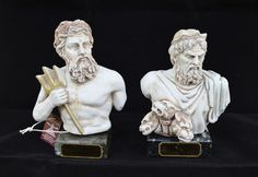 """""""[the house/dominion] of Hades"""". In Greek Mythology Hades is the oldest male child of Cronus and Rhea. Poseidon or Posidon is one of the twelve Olympian Deitys of the Pantheon in Greek Mythology. Hades was the ancient Greek God of the underworld. Greek Mythology Tattoos, Stone Statues, Greek Gods, Hades, Underworld, Deities, Old Things, Lion Sculpture, Ideas Para"""