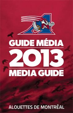 Media Guide - Montreal Alouettes