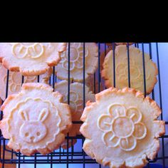 Stampin' up cookie stamps.
