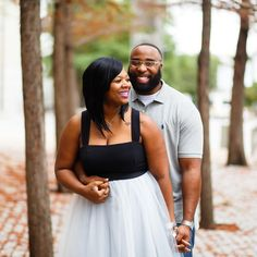 """Munaluchi Bride featured Crystal & Kendrick's engagement story and photos from their engagement session with me on their blog today! (Link in profile)…"""