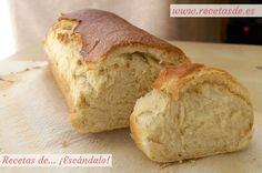 Cómo hacer pan de molde casero. Prepáralo en casa y no volverás a comprarlo ya hecho ;) Bread Machine Recipes, Bread Recipes, My Recipes, Favorite Recipes, Pan Dulce, Our Daily Bread, Pan Bread, Sweet Bread, Cakes And More