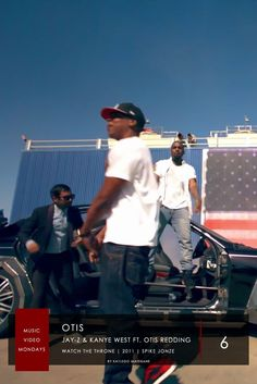 6. Jay-Z & Kanye West ft. Otis Redding - Otis | #MusicVideoMondays | #Top6  Directed By Spike Jonze; West & Jay-Z  Strip & Customize A Maybach 57 Which Was Later Sold & The Proceeds Were Donated Towards The East African Drought Disaster. The Video Features American Actor & Comedian Aziz Ishmael Ansari