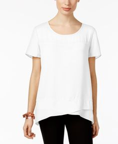 Ny Collection Crossover Top