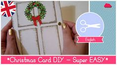 Image result for easy homemade christmas cards