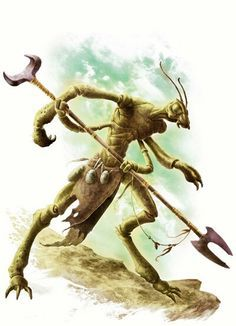14 Best Dark Sun Thri Kreen Images Monsters Character Design Insects