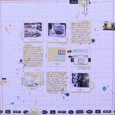 scrapbooking tutorial by Kirsty Smith @ shimelle.com  http://www.shimelle.com/paper/1684/two-sides-to-every-story-a-scrapbook-tutorial-by-kirsty-smith/