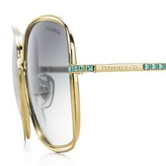 Tiffany & Co sunglasses with stones