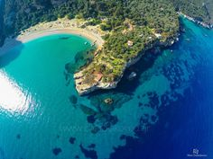 Seitani - Samos, Greece Best Beaches In Maui, Samos Greece, Myrtle Beach Resorts, Thasos, Beach Cove, T 62, Greece Islands, Vacation Resorts, What A Wonderful World