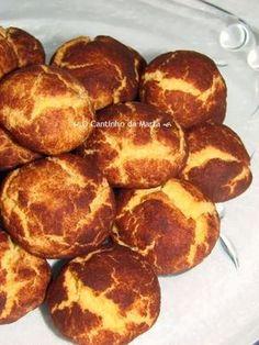 Portuguese Desserts, Portuguese Recipes, Cookie Recipes, Dessert Recipes, Good Food, Yummy Food, Snacks, Cake Cookies, Sweet Recipes