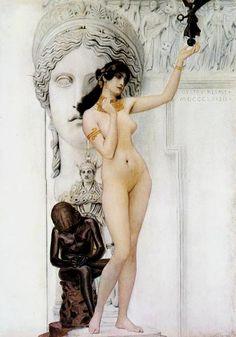 Klimt. Sappho