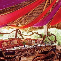 african safari/moroccan tent ...