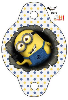Minions, the Movie: Free Party Printables. | Oh My Fiesta! in english