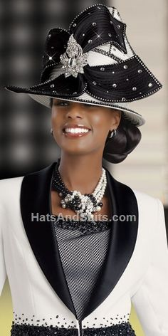 Image detail for -home new arrivals donna vinci couture church hat by araceli Church Suits And Hats, Church Attire, Church Hats, Funky Hats, Cool Hats, Crazy Hats, Hats For Women, Ladies Hats, Church Fashion