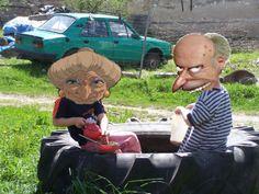 yubabička a děda (yubaba and grandpa)