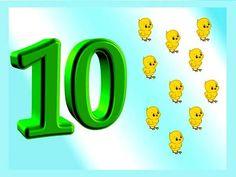 Numerele 1-10 - etapele procesului de invatare la prescolari si fise de lucru potrivite Numbers Preschool, Math Numbers, Glass Art, Wall, Type 1, Teacher, Club, Facebook, Mom