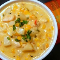 Chipotle Chicken and Corn Chowder by JoyouslyDomestic
