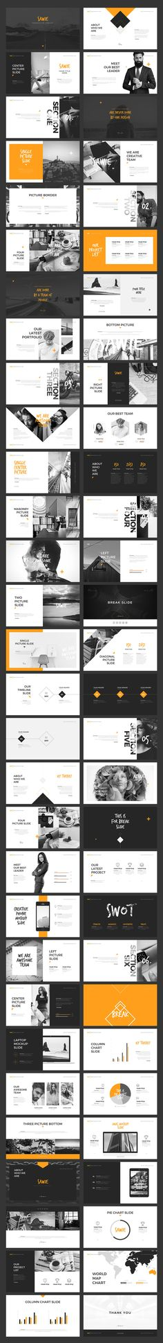 Buy SAWIE Keynote Template by angkalimabelas on GraphicRiver. SAWIE Keynote Template Specification : Slides Screen Ratio Full HD Modern layouts based on master . Design Web, Slide Design, Layout Design, Book Portfolio, Portfolio Design, Presentation Layout, Presentation Templates, Power Point Presentation, Presentation Slides