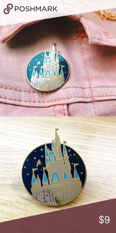 Cinderella Castle Pin- Walt Disney World Enamel castle pin Disney Jewelry Brooches
