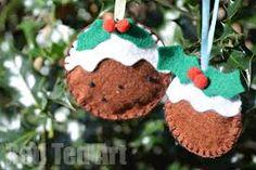 Image result for christmas felt ornaments