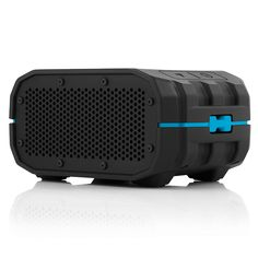 Braven BRV-1 Portable Bluetooth Speaker (BLACK) - A rugged, water resistant portable speaker especially designed for outdoor use. This one has been made with great quality in order to be protected from rainfall, water splashing, or water immersion. Also, the Braven BRV-1 portable speaker has a shock absorbing exterior which is very perfect in most extreme environments. The most important part, this portable speaker uses 1400mAh battery capable of playing wireless audio for up to 12 hours.