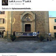 e sabato #megaconcertone #free di #band #emergenti #aretine  in #piazzasanmichele  offerto da #loft9arezzo