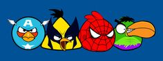 Angry Birds Mash-up