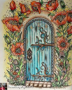 @Regrann from @francesmarionz -  I love Doors ~ this was some what inspired by…