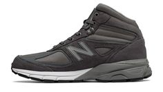 Made in US 990v4 Mid, Grey with Black