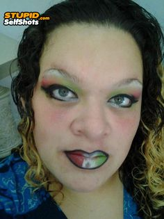 Have you ever seen your makeup fail? Check out some makeup disasters, some worst makeup ever, some pictures of ugly makeup and some makeup fail pictures. The funny makeup and epic makeup fail can give you a good laughter time. Ugly Makeup, Eyebrow Makeup, Eyeliner, Bad Makeup Fails, Makeup Gone Wrong, Eyebrow Fails, What Is Makeup, Makeup Mistakes, Funny