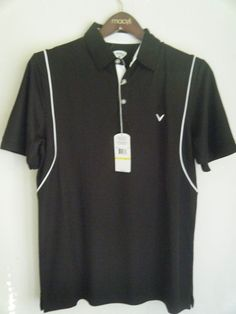 $60 NEW NWT CALLAWAY GOLF MENS CAVIAR POLO SHIRT M #Callaway #PoloRugby wow 24$