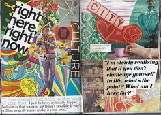 collage journal ... love, Love, LOVE this idea!