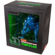 """TMNT Teenage Mutant Ninja Turtles - Leonardo 8"""" Vinyl Figure by Kidrobot"""