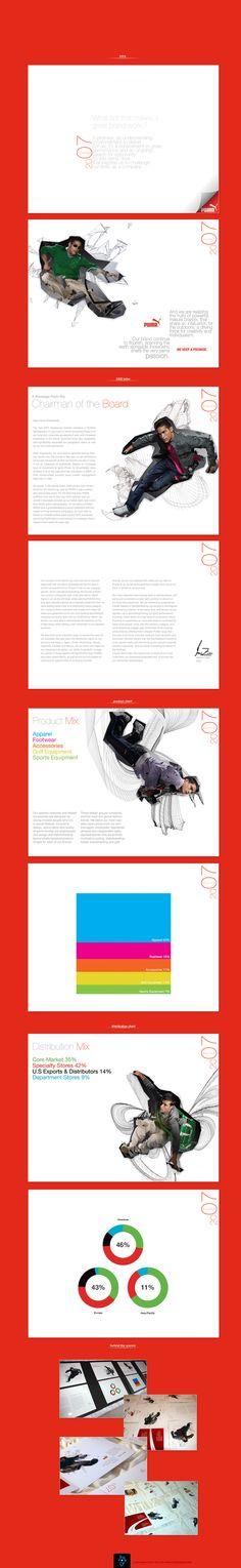 2007 Puma Annual Report | Designer: Antonio Caballero