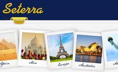 Seterra on ilmainen karttavisapeli, joka opettaa maita, kaupunkeja ja muita maantieteellisiä paikkoja kaikkialla maailmassa.