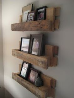 Pallets as a shelf. Main room on wall by windows (right hand of stage)