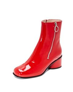 59cb74a617 21 Pairs of Red Boots That Tap Into a Major Fall Street Style Trend