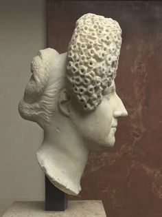Hairstyles in Ancient Greece and Rome   woman of the Flavian age 90-100 A.D