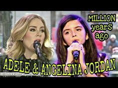 """angelina jordan ft adele """"Million Years Ago"""" is a song recorded by English singer and songwriter Adele for her third studio album 25 The song was wri. Angelina Jordan, Adele Adkins, Cover Songs, Types Of Music, Beautiful Songs, America's Got Talent, Music Videos, Singing, Jordans"""