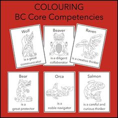 BC Core Competency self assessment with The Six Cedar Trees - rubber boots and elf shoes Aboriginal Education, Indigenous Education, Indigenous Art, Preschool Curriculum, Science Classroom, Preschool Activities, Kindergarten, Teaching Materials, Teaching Tools