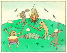 Tom Seidmann-Freud fairy tale illustrations