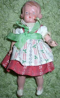 Alte Schildkröt Puppe ca 20 cm Mädchen   eBay
