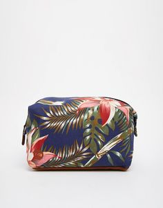 Mi-Pac+Palm+Floral+Wash+Bag