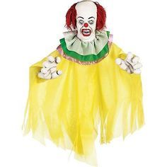 Pennywise Mini Hanging Decoration Clown Halloween It Movie Dancing Licensed Prop