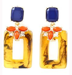 Tortoise Shell Earrings. I found this on www.rmcjewelry.com