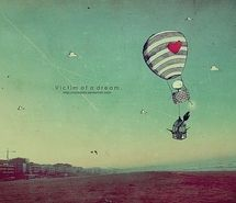 Inspiring picture balloon, drawing, dream, funky art, kawaii, wallpaper. Resolution: 500x374 px. Find the picture to your taste!