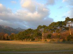 菰野町大羽根園地区 野球グランドから鎌ヶ岳を望む 平成25年1月11日撮影