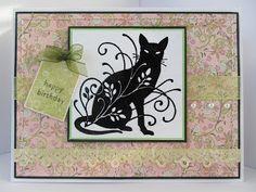 Sunny Summer Crafts: Birthday Kitty